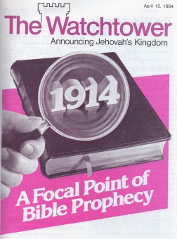 1914 A Focal point of bible Prophecy