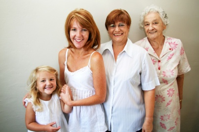 four-generations-of-woman